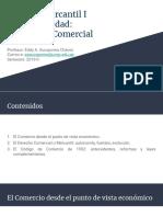 Primera Unidad - El Derecho Comercial