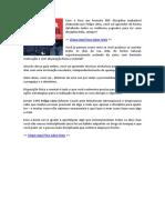Livro Disciplina Inabalavel PDF - (eBook)