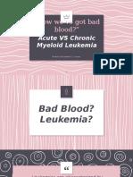 Leukemia Draft 1