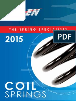 Rear Hd Kilen Coil Spring 53279
