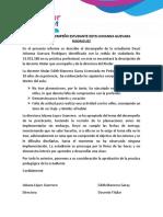 Informe Deisy Johanna Guevara