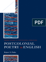 Post-Colonial Poetry in English