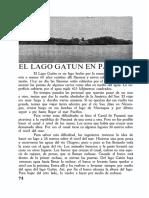23 El Lago Gatun en Panamá