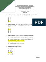 Matemáticas exámenes espol