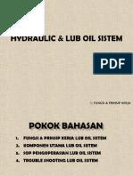 6. Lub Oil & Hydroulic Oil System
