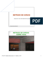 METRADO DE CARGAS