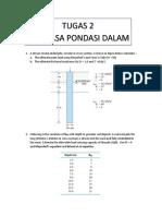 Tugas 2 Rek.pondasi Dalam_2019
