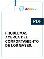 Problemas (gases)