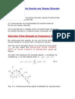 1Transformada de Fourier Em Tempo Discreto
