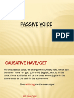 passive voice grammar