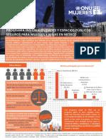 PROGRAMA INSIGNIA CIUDADES Y ESPACIOS PÚBLICOS SEGUROS PARA MUJERES Y NIÑAS EN MÉXICO
