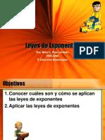 Leyes de Exponentes