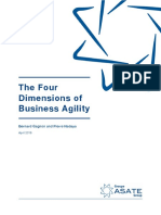 The Four Dimensions of Business Agility