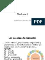 Flash Card Funcionales
