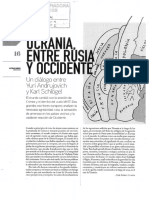 Ucrania entre Rusia y occidente