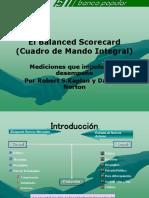 Conferencia Balanced Scorecard