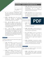 Direito Internacional - Bloco - 4 Lista01