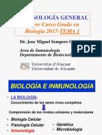 TEMA 1 .- Introducción y contexto histórico de la inmunología general