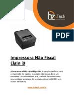 Manual Impressora Nao Fiscal Elgin i9