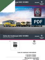 03 Desmontagem Montagem Caixa de Mudanças 6AS1010BO 04 2014 Bruno ACM Volksbus v2