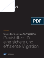Whitepaper Panaya How to Migrate to SAP S4HANA