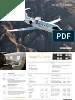 Fact Sheet 2019-07 Learjet 75 Liberty 2