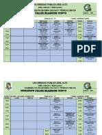 Horarios Oficial II-2019 Pb