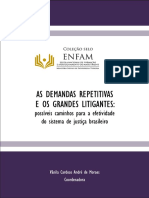 as demandas repetitivas - enfam