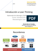 Clase 1 - Introducción a Lean Thinking
