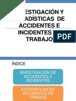 NVESTIGACION DE ACCIDENTES