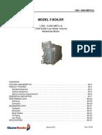 Model 5 Boiler Book
