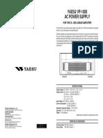 Vp1000 User Manual