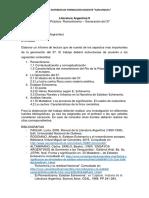 Literatura Argentina II - TP1