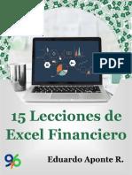 15 Lecciones de Excel Financiero - V2