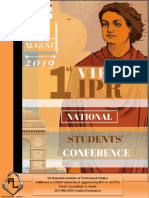 1st VIPS IPR National Students Conference 2019