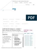 CCNP ROUTE (Version 7)