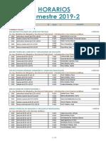 4.Horarios Para La Matrícula 2019-2
