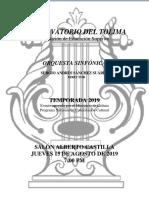 Programa 15 Agosto- B 2019