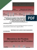 Mecanica de fluidos para Ingenieros