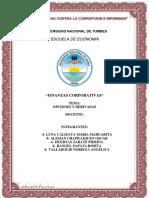 Opcciones y Derevados - Finanzas Corporativas.
