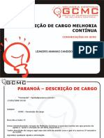 1 - Nº 024a - Descrição de Cargo Melhoria Contínua