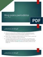 Blog Para Periodistas