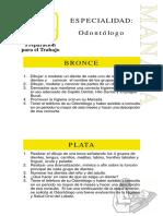 Especialidades Preparacion Profesional Odontologo