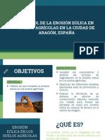 Control de  la Erosión Eólica