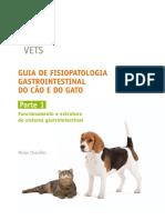 guia de fisiopatologia gastrointestinal cães e gatos