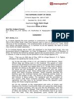 Kedar Nath Singh vs State of Bihar 20011962 SCs620074COM774066
