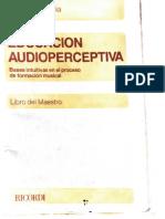 GARMENDIA, Emma - Educación Audioperceptiva (Ricordi, 1981)