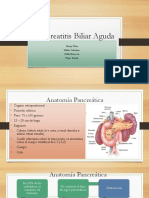 Pancreatitis Biliar Aguda Magistral Grupo B [Autoguardado]
