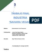 Trabajo Final Sahara VEGAN0.1