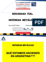 4 Santos Defensas Metalicas
